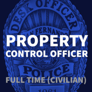 Property Control Officer