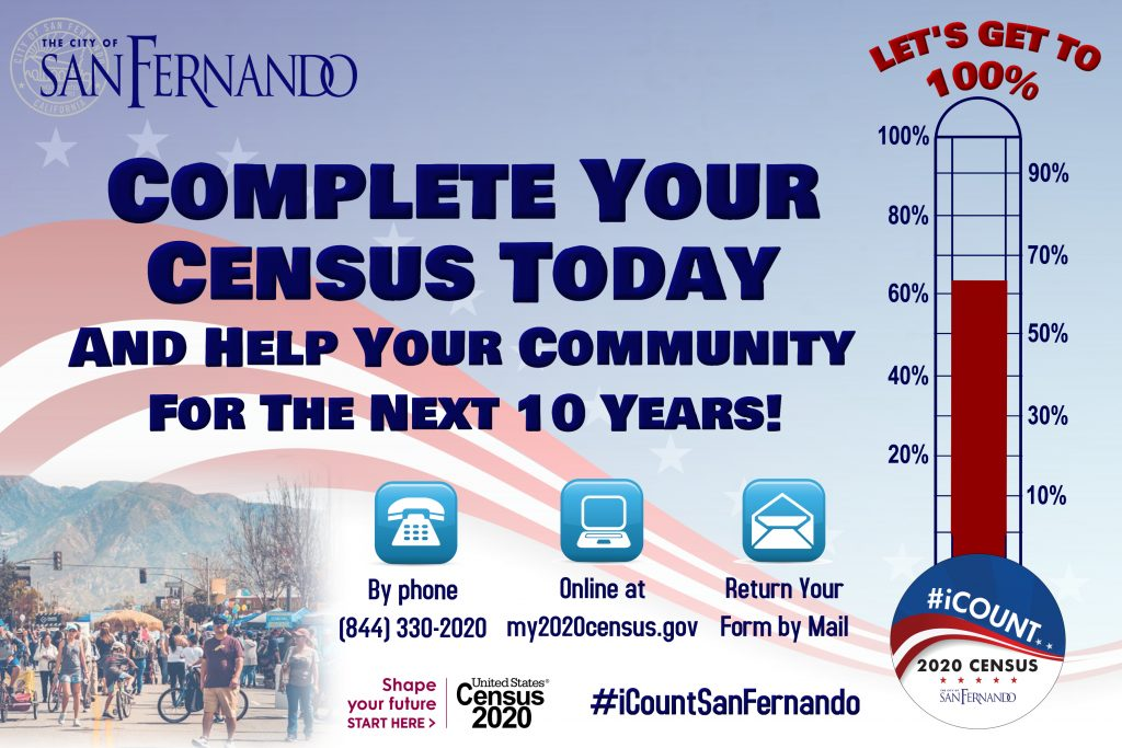 Complete your Census Today