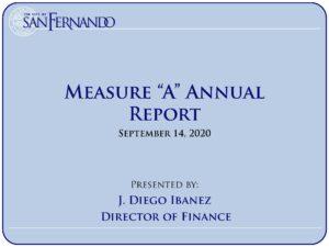 FIN_Measure A Annual Report (9-14-20)