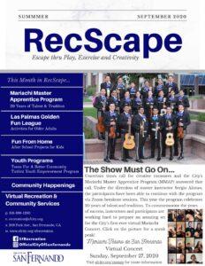 RecScape September Newsletter