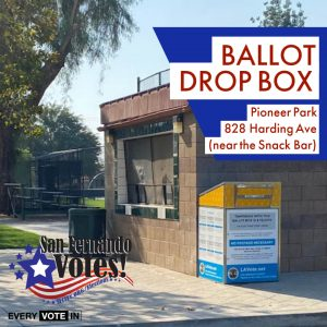 Ballot Drop Box Pioneer Park