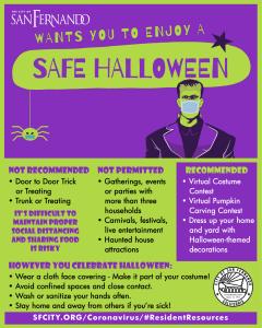 Guidance to Enjoy a Safe Halloween