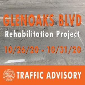 GLENOAKS BLVD REHABILITATION PROJECT