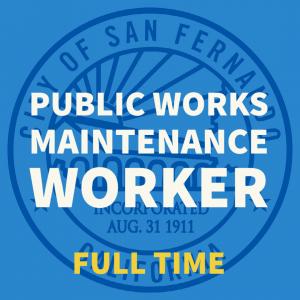 PW Maintenance Worker