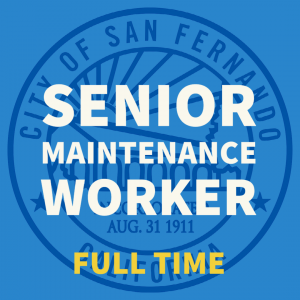 Senior Maintenance Worker