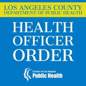 LACo Health Officer Order