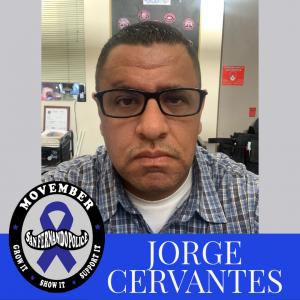 Movember Pic w logo CERVANTES, J