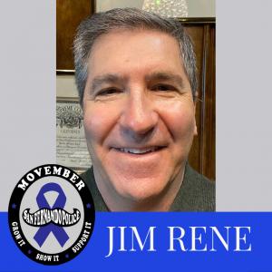 Movember Pic w logo RENE, J