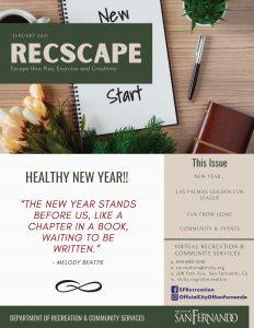 RecScape - January