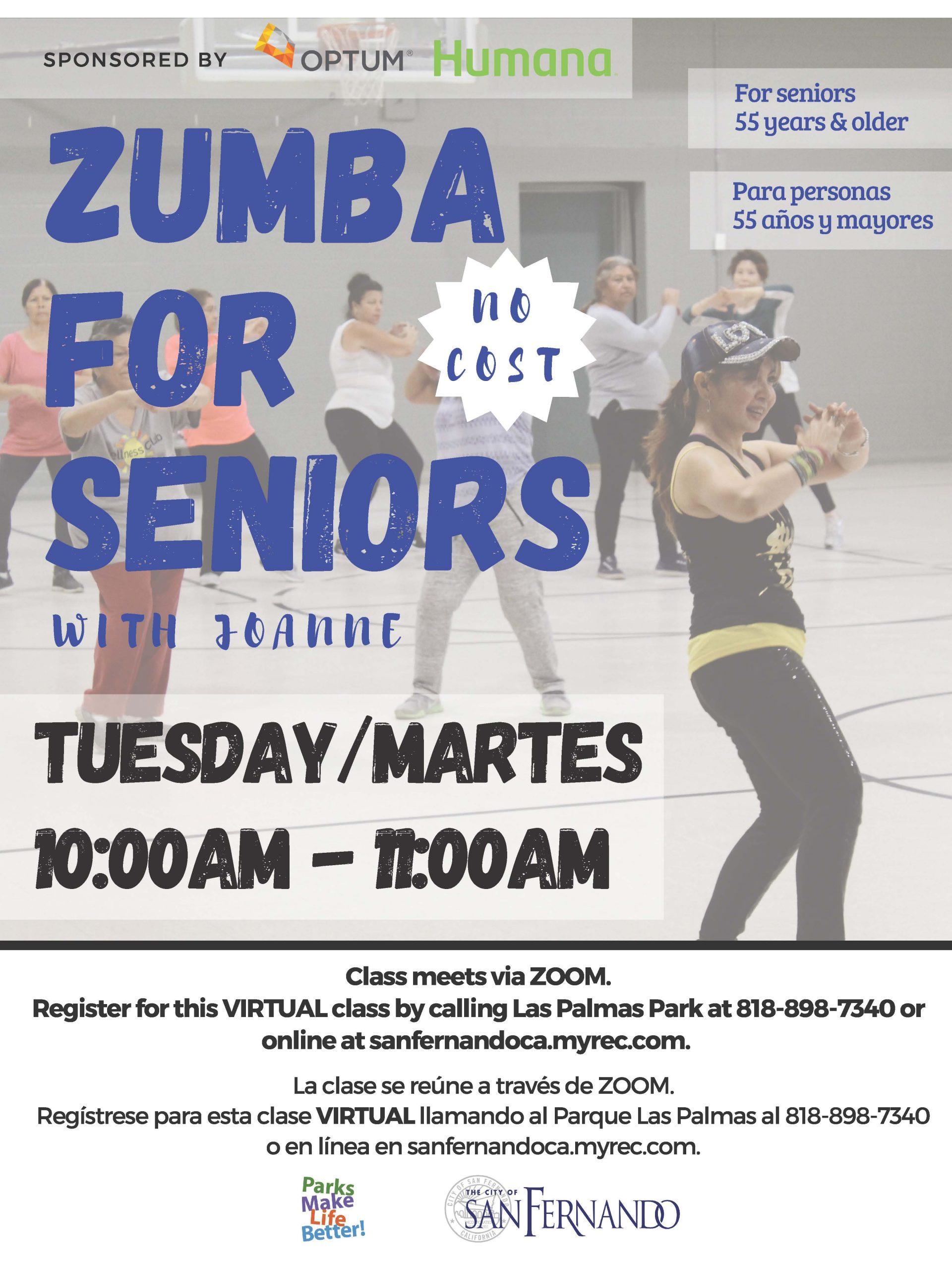 Senior Zumba 1-21