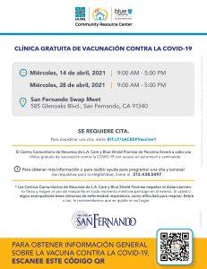 LA Care Vacccine - San Fernando SP