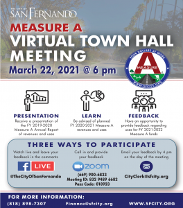 Measure A Town Hall Meeting (3-22-21)