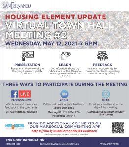 Housing Element Update Community Meeting (5-12-21)