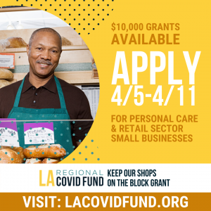 LA Regional COVID Fund Grants