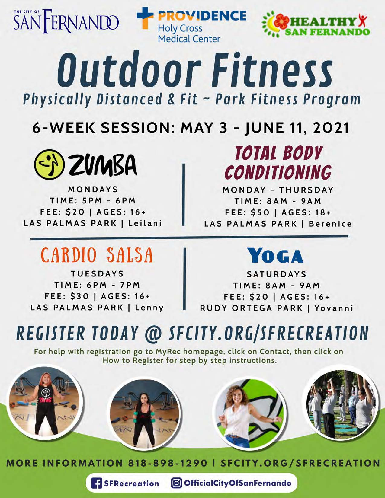 Outdoor Fitness (May-June)