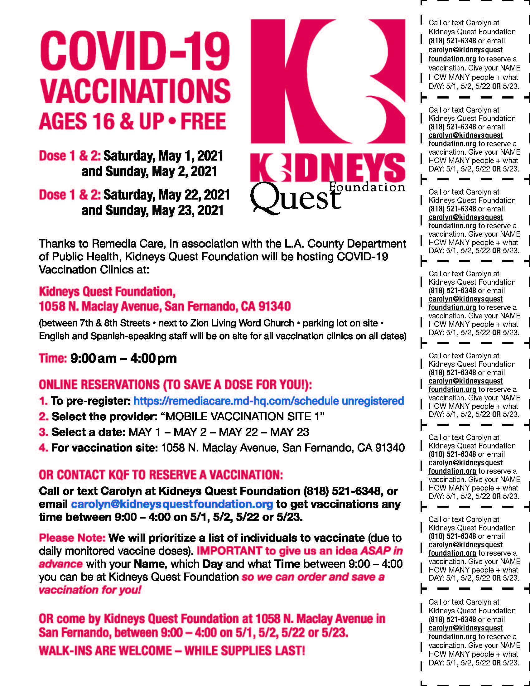Vaccine - KQF PopUp (May 2021) ENG