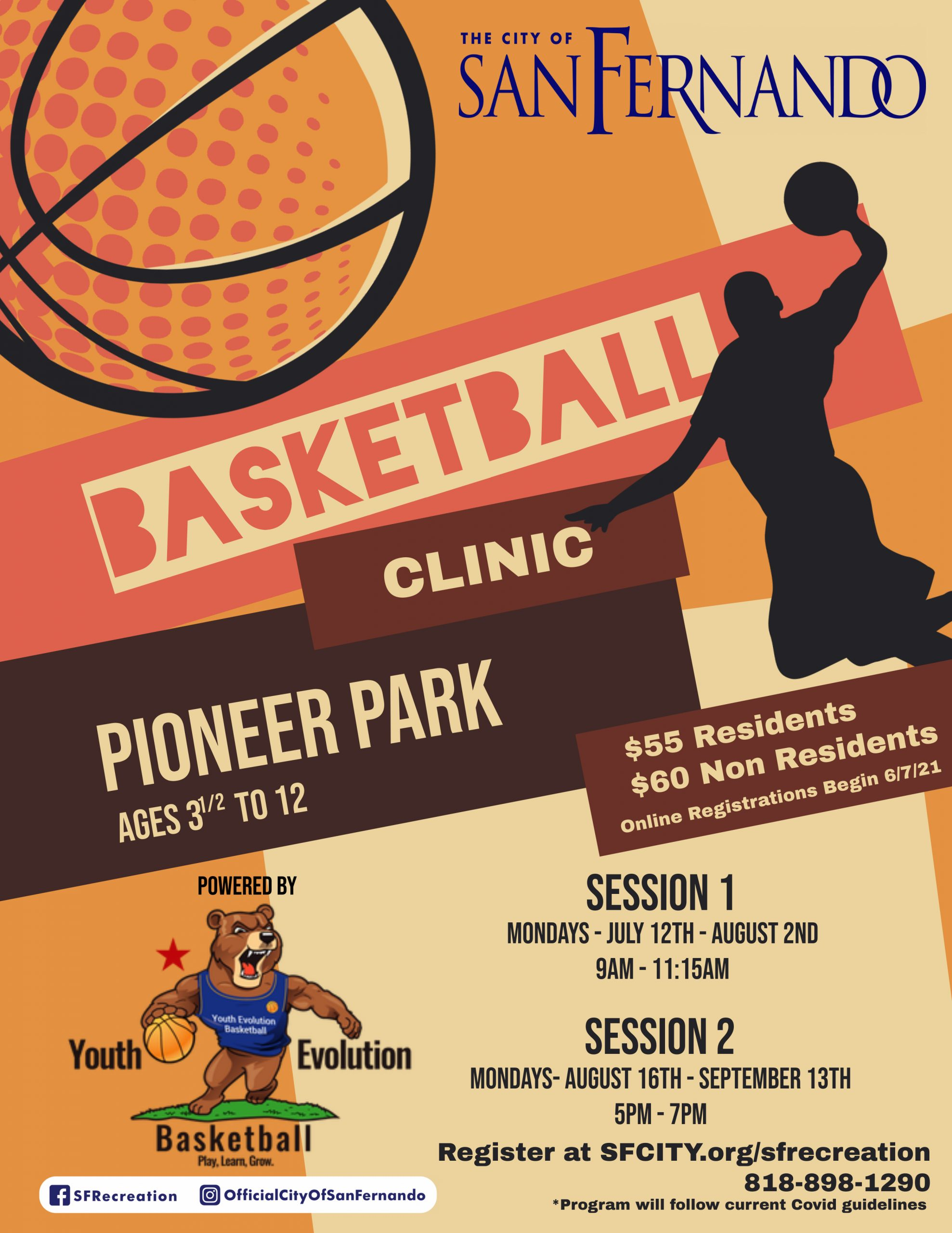 Basketball Clinic(July & August 2021)