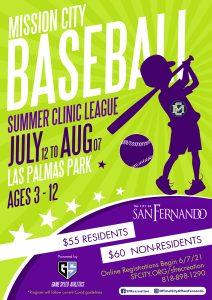Mission City Baseball (Summer 2021)