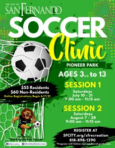 Soccer Clinic (July & August 2021)