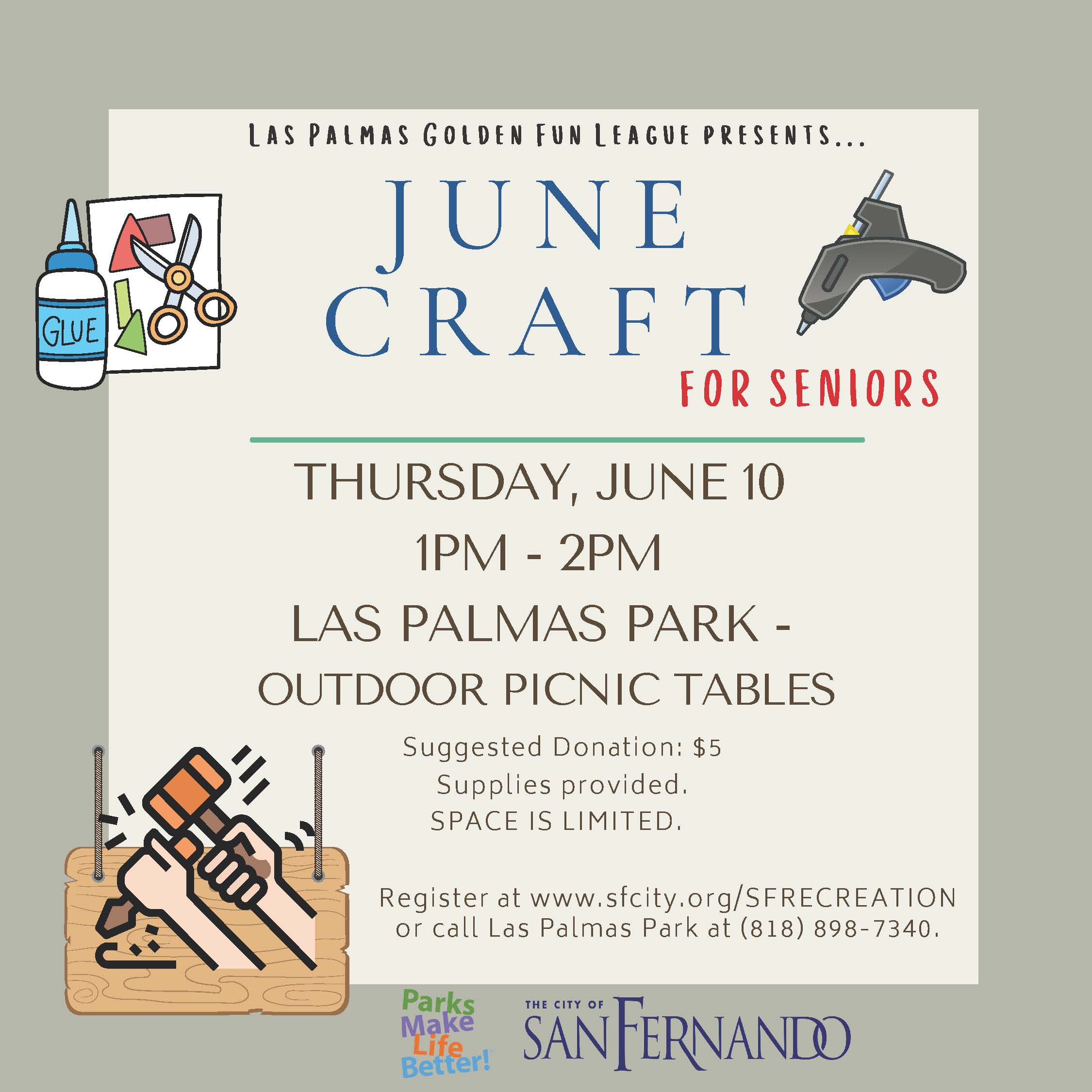 Arts and Crafts JUNE