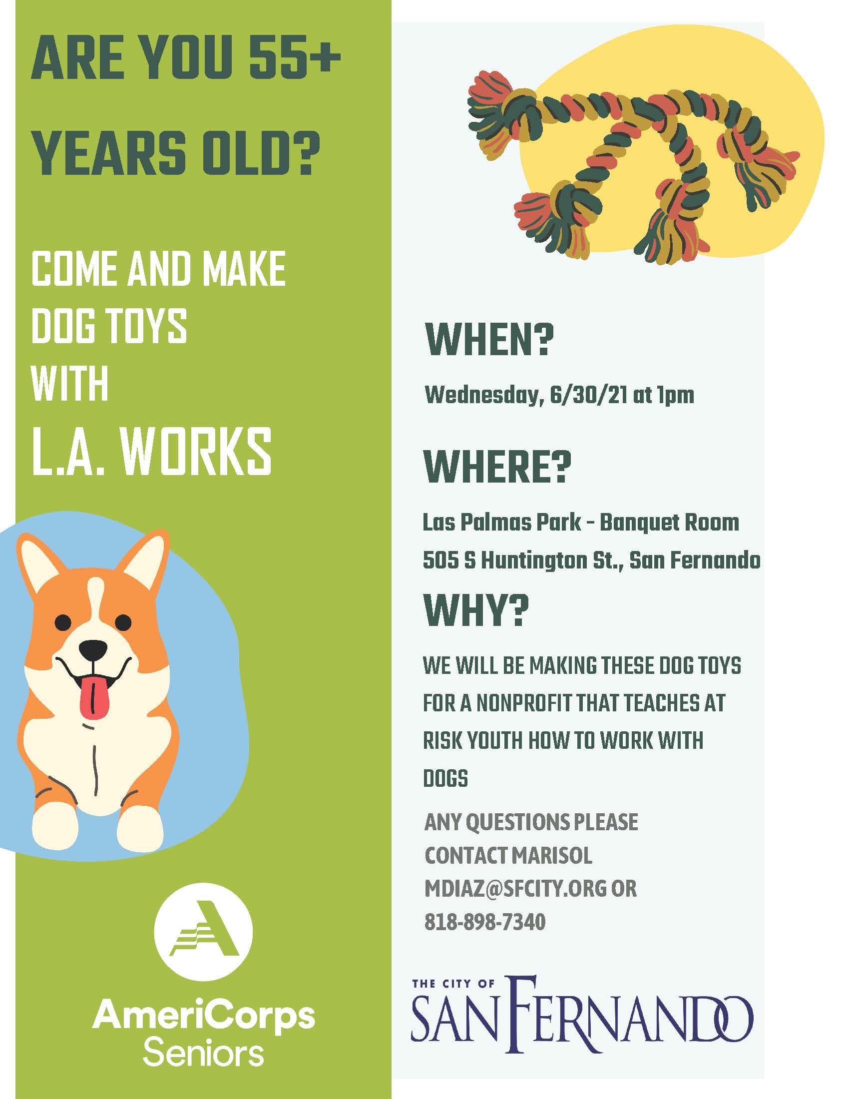 Make Dog Toys (6-30-21)