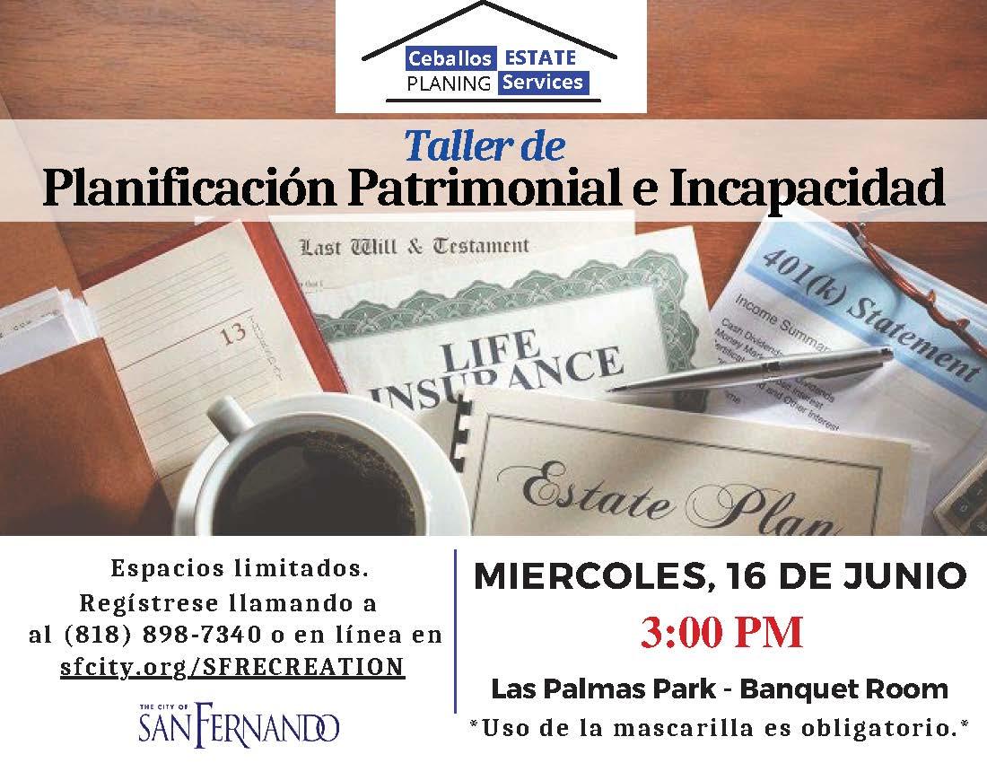 Estate planning Spanish