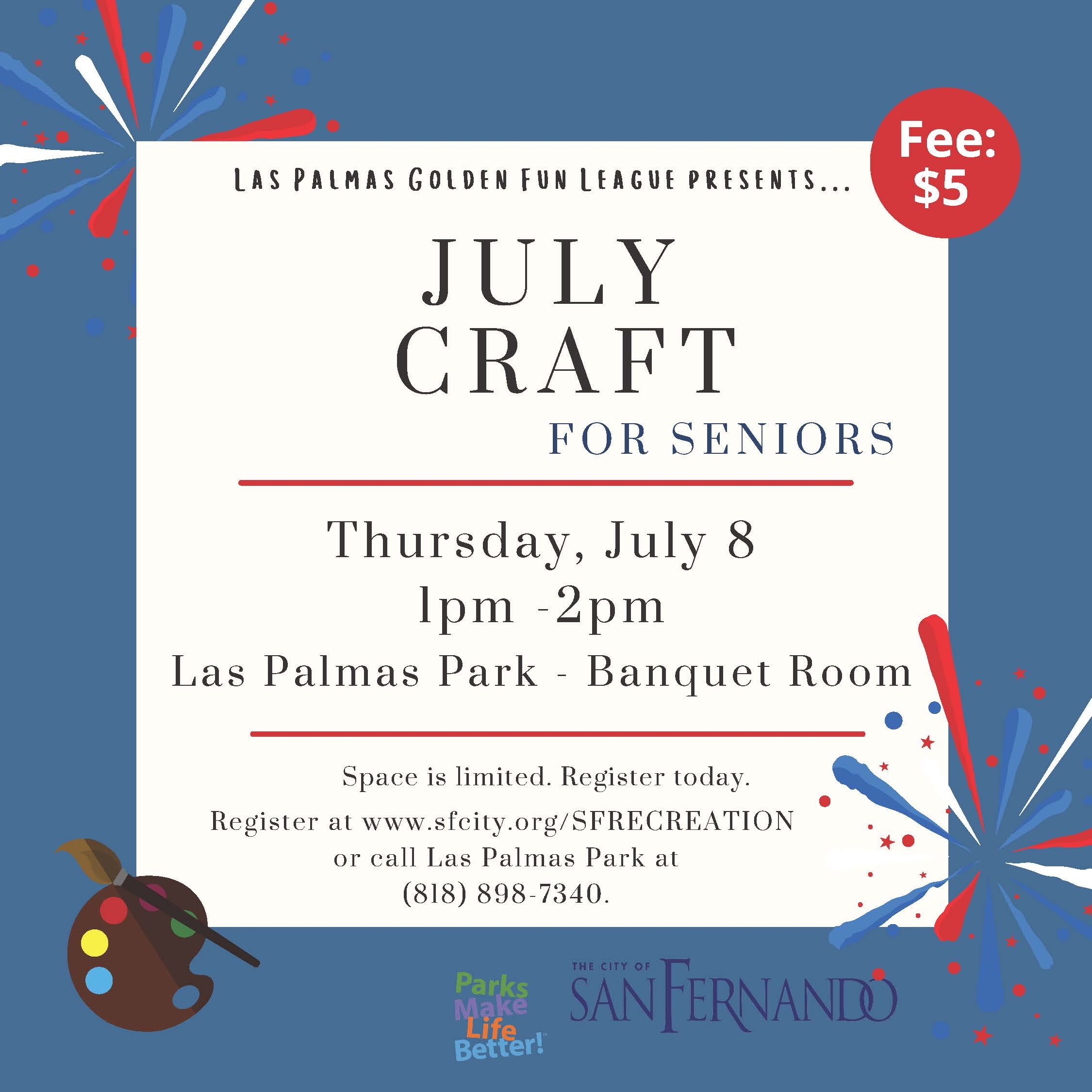 Arts and Crafts JULY