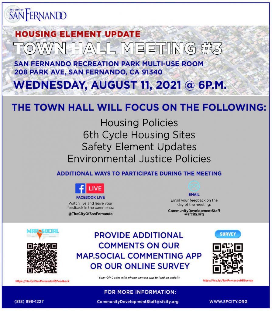 Housing Element Town Hall (8-11-21)