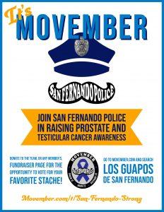 Movember 2020 flyer