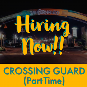 POST PIC Hiring Now (Crossing Guard) pt