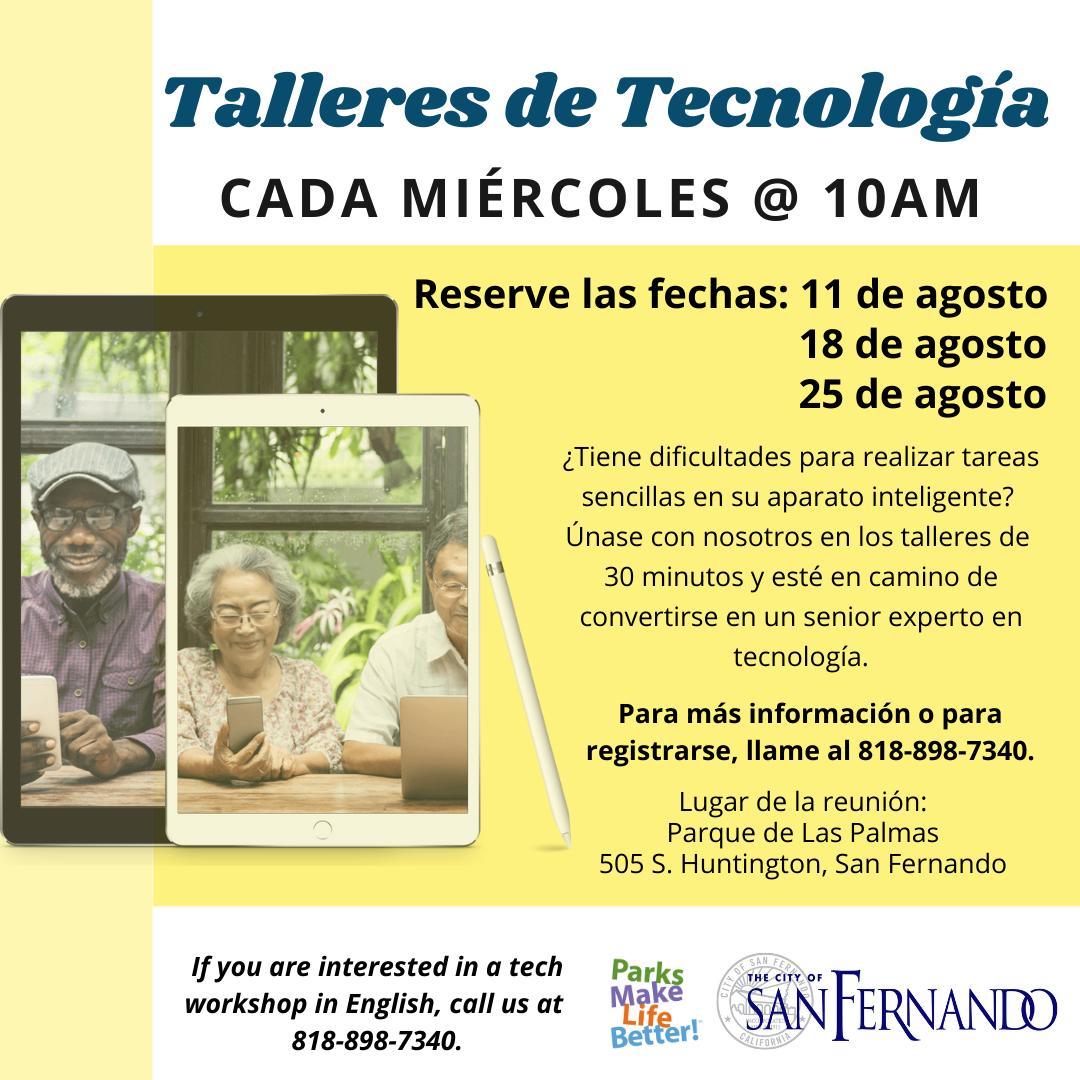 Tech Wednesdays (August 2021) SP