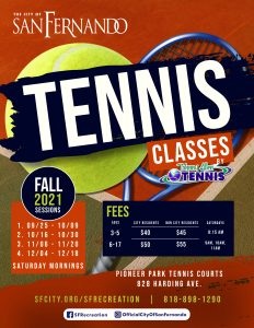 Tennis Fall 21