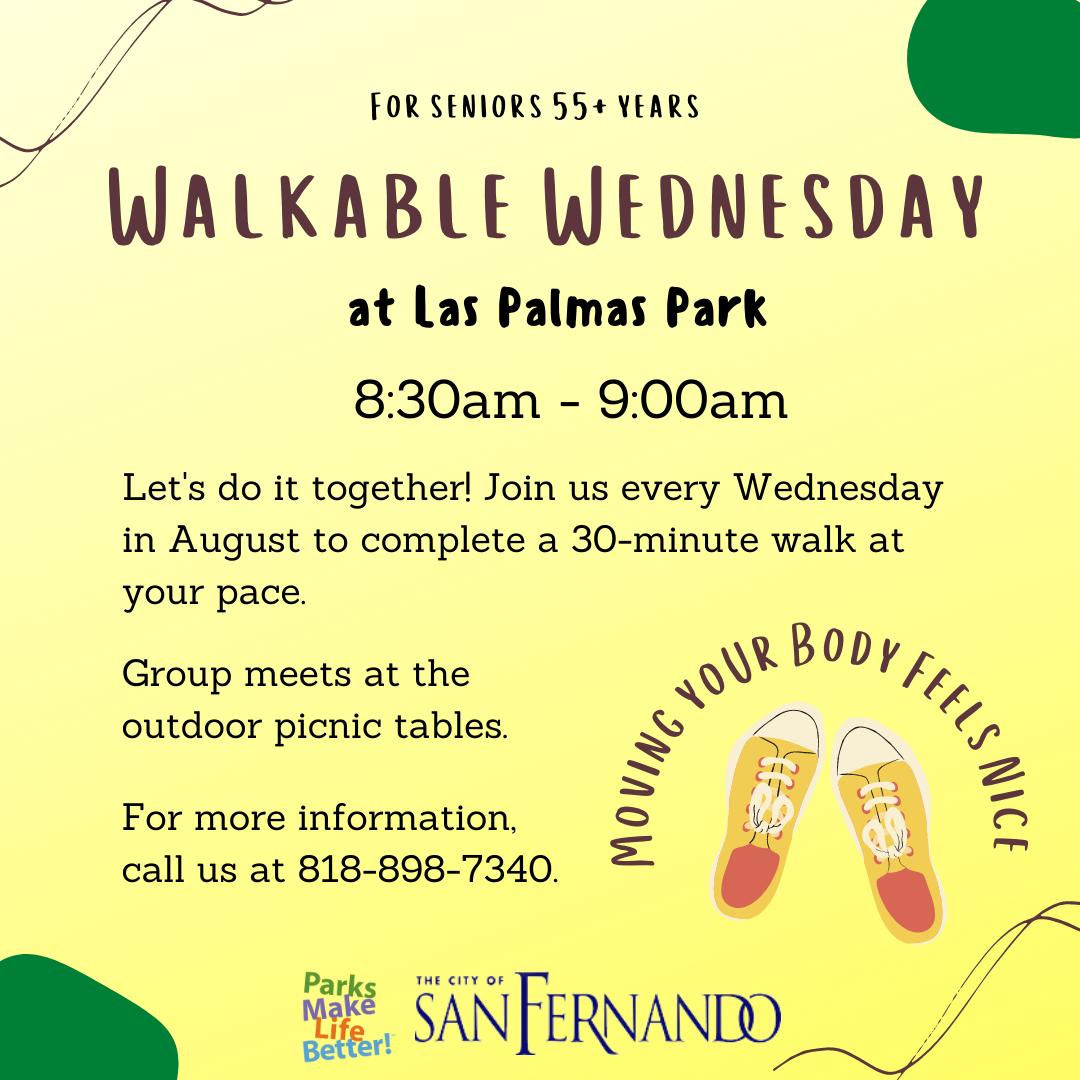 Walkable Wednesday (August 2021)