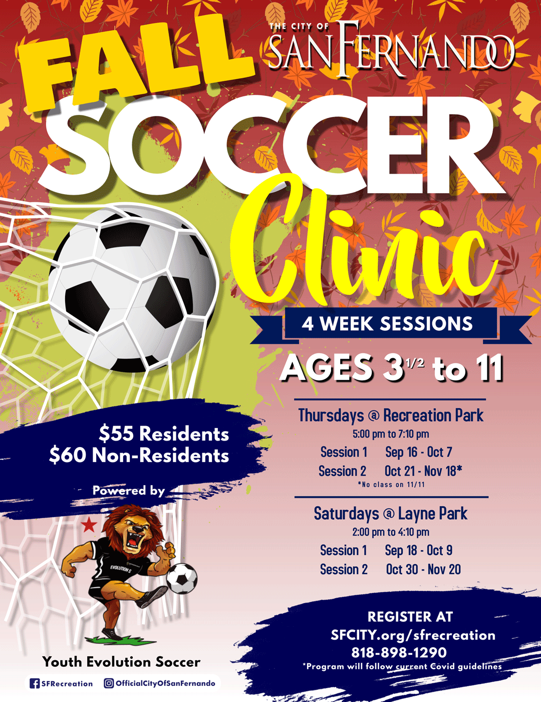 2021-FALL-YES-Soccer-Clinic