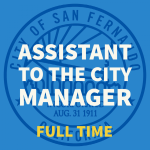 Assistant to the City Manager (2021)
