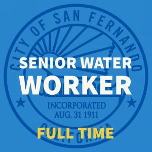 Senior Water Worker